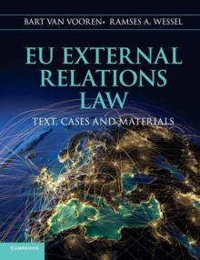 EU External Relations Law : Text, Cases and Materials, Paperback / softback Book