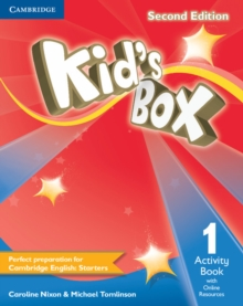 Kid's Box Level 1 Activity Book with Online Resources : Kid's Box Level 1 Activity Book with Online Resources Level 1, Mixed media product Book