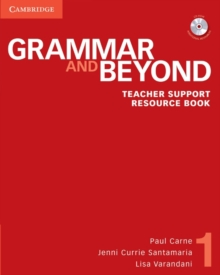 Grammar and Beyond Level 1 Teacher Support Resource Book with CD-ROM, Mixed media product Book