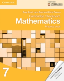 Cambridge Checkpoint Mathematics Practice Book 7, Paperback Book