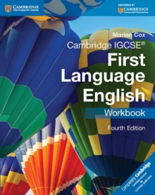 Cambridge IGCSE First Language English Workbook, Paperback Book