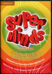Super Minds American English Starter Classware and Interactive DVD-ROM, Mixed media product Book