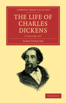 The Life of Charles Dickens 3 Volume Set, Mixed media product Book