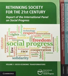 Rethinking Society for the 21st Century 3 Volume Paperback Set : Report of the International Panel on Social Progress, Mixed media product Book