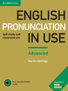 English Pronunciation in Use Advanced Book with Answers and Downloadable Audio, Mixed media product Book