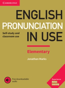English Pronunciation in Use Elementary Book with Answers and Downloadable Audio, Mixed media product Book