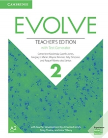 Evolve Level 2 Teacher's Edition with Test Generator, Mixed media product Book