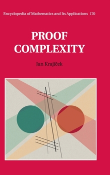 Proof Complexity, Hardback Book