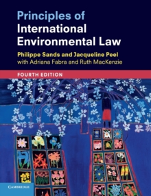 Principles of International Environmental Law, Paperback / softback Book
