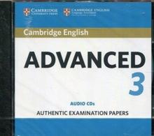 cambridge english advanced  CAE Practice Tests : Cambridge English Advanced 3 Audio CDs ...