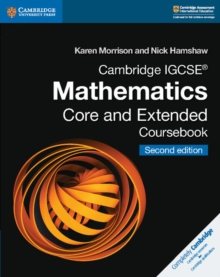 Cambridge IGCSE (R) Mathematics Core and Extended Coursebook, Paperback Book