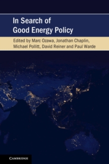 In Search of Good Energy Policy, Paperback / softback Book