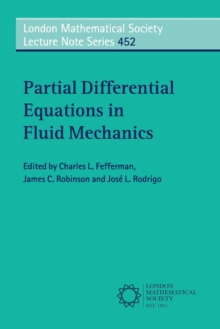 Partial Differential Equations in Fluid Mechanics, Paperback / softback Book