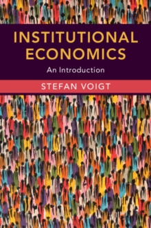 Institutional Economics : An Introduction, Paperback / softback Book