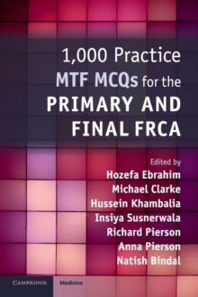 1,000 Practice MTF MCQs for the Primary and Final FRCA, Paperback / softback Book