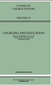 Churches and Education, Hardback Book