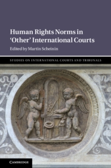Human Rights Norms in 'Other' International Courts, Hardback Book