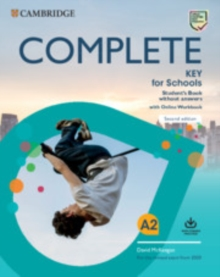 Complete Key for Schools Student's Book without answers with Online Workbook, Mixed media product Book