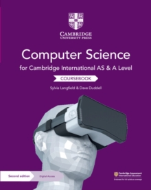 Cambridge International AS and A Level Computer Science Coursebook with Cambridge Elevate Edition (2 Years), Mixed media product Book