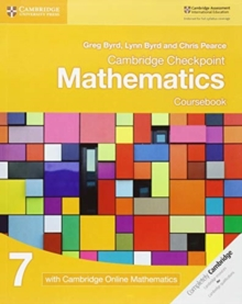 Cambridge Checkpoint Mathematics Coursebook 7 with Cambridge Online Mathematics (1 Year), Mixed media product Book