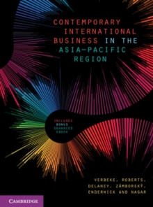 Contemporary International Business in the Asia-Pacific Region, Mixed media product Book