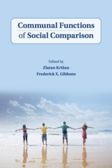Communal Functions of Social Comparison, Paperback / softback Book