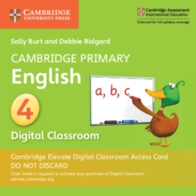 Cambridge Primary English Stage 4 Cambridge Elevate Digital Classroom Access Card (1 Year), Digital product license key Book