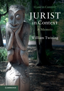 Jurist in Context : A Memoir, Paperback / softback Book