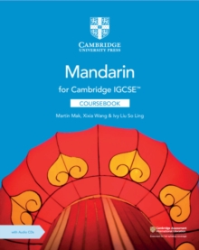 Cambridge IGCSE (TM) Mandarin Coursebook with Audio CDs (2), Mixed media product Book