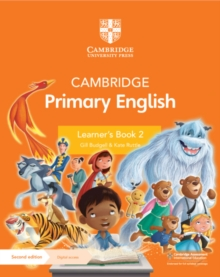 Cambridge Primary English Learner's Book 2 with Digital Access (1 Year), Mixed media product Book