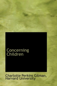 Concerning Children, Paperback / softback Book