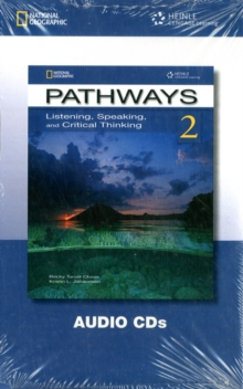 Pathways 2 - Listening , Speaking and Critical Thinking Audio CDs, Board book Book
