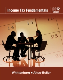 Income Tax Fundamentals 2012 (with H&R BLOCK At Home (TM) Tax Preparation Software CD-ROM), Mixed media product Book