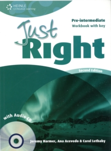 Just Right Pre-intermediate: Workbook with Key and Audio CD, Mixed media product Book
