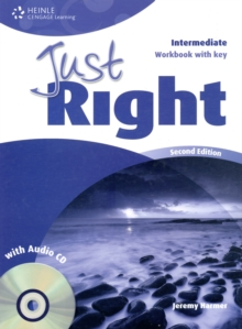 Just Right Intermediate: Workbook with Key and Audio CD, Mixed media product Book