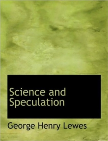 Science and Speculation, Hardback Book