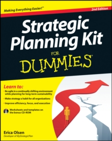 Strategic Planning Kit For Dummies, Paperback Book