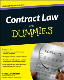 Contract Law for Dummies, Paperback / softback Book
