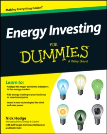 Energy Investing For Dummies, Paperback / softback Book