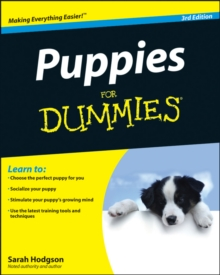 Puppies for Dummies, 3rd Edition, Paperback Book