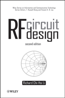 RF Circuit Design, Hardback Book