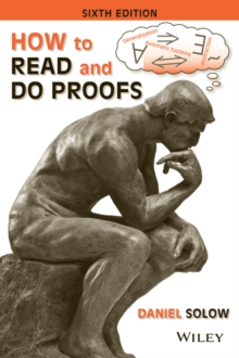 How to Read and Do Proofs : An Introduction to Mathematical Thought Processes, Paperback / softback Book
