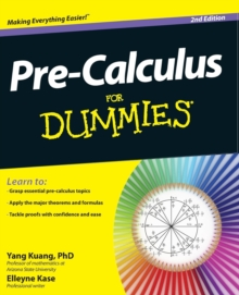 Pre-Calculus For Dummies, Paperback Book