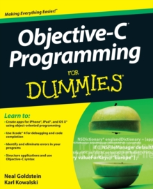 Objective-C Programming For Dummies, Paperback Book