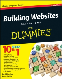 Building Websites All-In-One for Dummies, 3rd Edition, Paperback Book