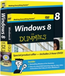 Windows 8 For Dummies(R) Book + DVD Bundle, Mixed media product Book