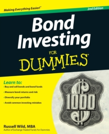 Bond Investing for Dummies, 2nd Edition, Paperback Book