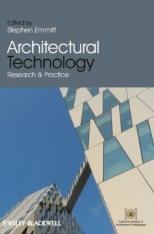 Architectural Technology : Research and Practice, Hardback Book