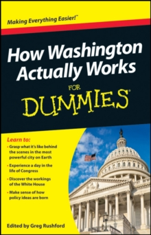 How Washington Actually Works For Dummies, Paperback Book