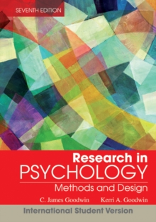 Research in Psychology : Methods and Design, Paperback Book